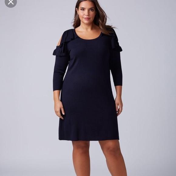 ae8e514b093 Nwt Lane Bryant sweater dress